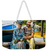 Waiting By The Boats Weekender Tote Bag