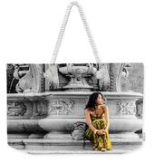 Waiting - Cesena - Italy  Weekender Tote Bag