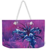 Waiting Flower Weekender Tote Bag