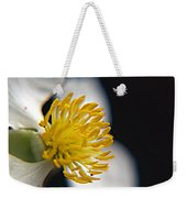 Waiting For A Bee Weekender Tote Bag