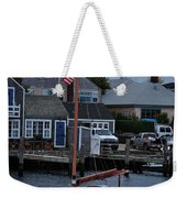 Waiting For A Captain Weekender Tote Bag