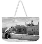 Waiting For A Friend Weekender Tote Bag