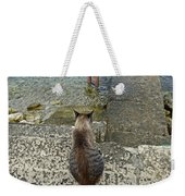 Waiting For A Meal Weekender Tote Bag