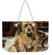 Waiting For Master   Weekender Tote Bag by Jane Bennett Constable
