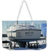 Waiting For Summer To Just Do-it  Weekender Tote Bag