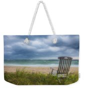 Waiting For Sunrise On The Dunes Weekender Tote Bag