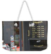 Waiting For Sweets Weekender Tote Bag