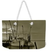 Waiting For The Big Catch  Weekender Tote Bag
