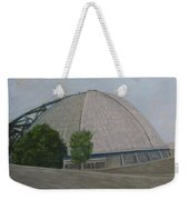 Waiting For The Next Event Mellon Arena Pittsburgh Weekender Tote Bag
