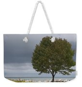 Waiting For The Storm Weekender Tote Bag