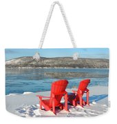 Waiting For The Summer Weekender Tote Bag