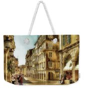 Waiting For The Tourists Weekender Tote Bag