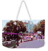 Waiting For Tourists Weekender Tote Bag