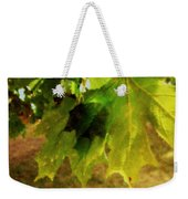 Waiting For Winter Weekender Tote Bag