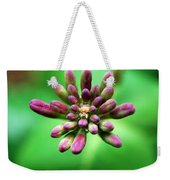 Waiting To Blossom Weekender Tote Bag
