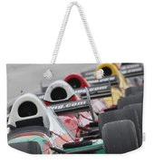 Waiting To Run Weekender Tote Bag by Lauri Novak