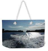 St. Lawrence Intercoastal Waterway Weekender Tote Bag