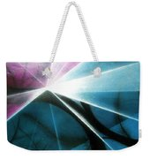 Wake Up In The Forest Weekender Tote Bag by Kumiko Mayer