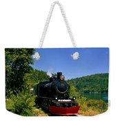 Wakefield Steam Train Weekender Tote Bag