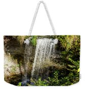 Walcott Waterfall Panorama Weekender Tote Bag by William Norton
