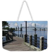 Walk Along The Fear River - Wilmington Weekender Tote Bag