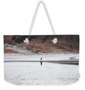 Walk At The Beach  Weekender Tote Bag