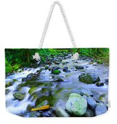 Walk Bridge Over Moffit Creek Weekender Tote Bag