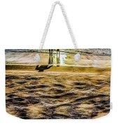 Walk By The Sea Weekender Tote Bag