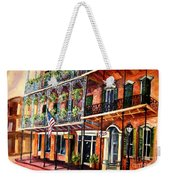 Walk In The French Quarter Weekender Tote Bag