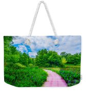 Walk Into Beauty Shaw's Nature Reserve Wet Lands Weekender Tote Bag