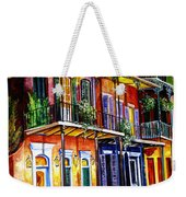 Walk Into The French Quarter Weekender Tote Bag