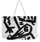 Walk On By Weekender Tote Bag