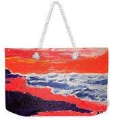 Walk On The Beach Weekender Tote Bag
