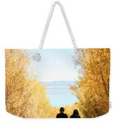 Walk To Mono Lake Weekender Tote Bag