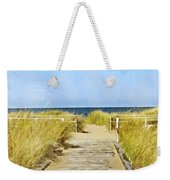 Walk To The Beach Weekender Tote Bag