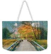 Walk To The Lake In Watercolors Weekender Tote Bag