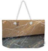 Walkin In A Spider Web Weekender Tote Bag