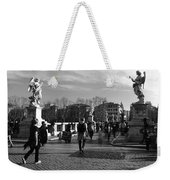 Walking Around Rome Weekender Tote Bag