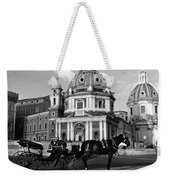 Walking Around The City Of Rome  Weekender Tote Bag