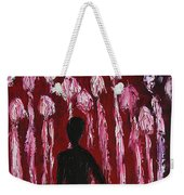 Walking Away Weekender Tote Bag