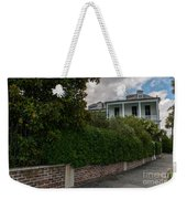Walking City Weekender Tote Bag