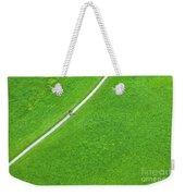 Walking Footpath In A Green Field Weekender Tote Bag