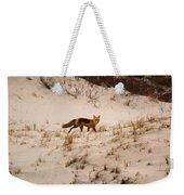 Walking Fox Weekender Tote Bag