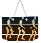 Walking In Line Weekender Tote Bag