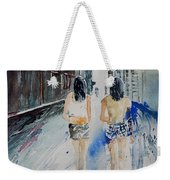 Walking In The Street Weekender Tote Bag