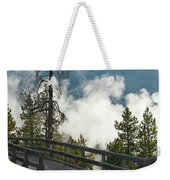 Walking Into The Unknown Weekender Tote Bag