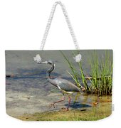 Walking On The Edge Weekender Tote Bag