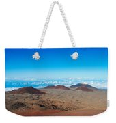 Walking On The Moon Weekender Tote Bag