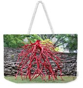 Walking Roots Sculpture 2 Weekender Tote Bag