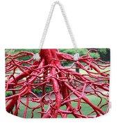 Walking Roots Sculpture Weekender Tote Bag